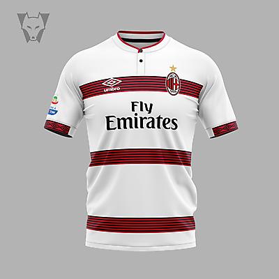 AC Milan x Umbro away concept