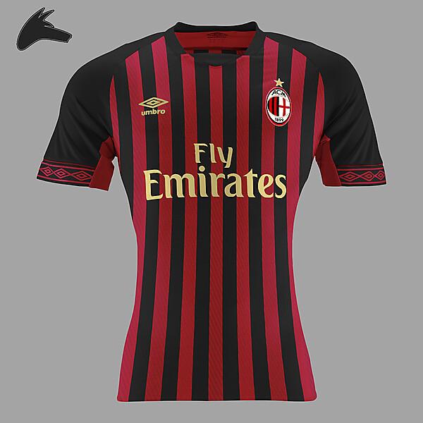 AC Milan x umbro home