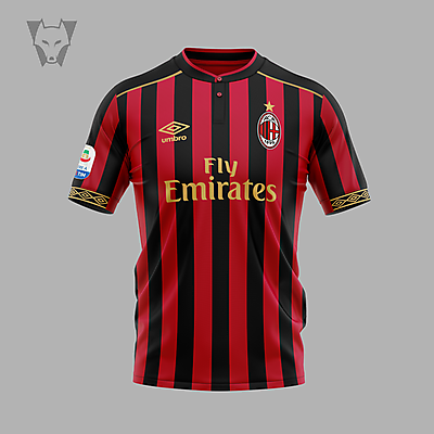 AC Milan x Umbro home concept