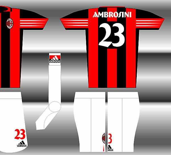 Adidas Fantasy Kit - AC Milan Home
