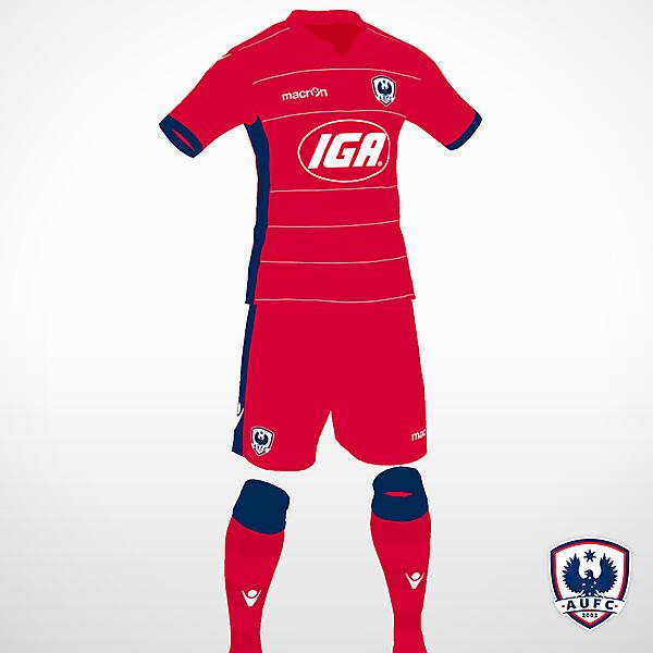 Adelaide United home kit