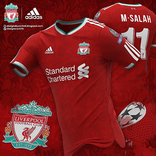 Adidas × Liverpool FC | Home Shirt