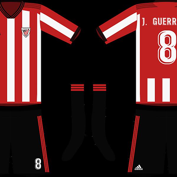 Adidas Athletic Bilbao 2019-20 Home Kit (La Liga)