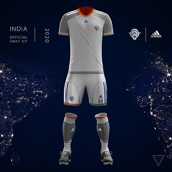 Adidas India Official Away Kit 2020