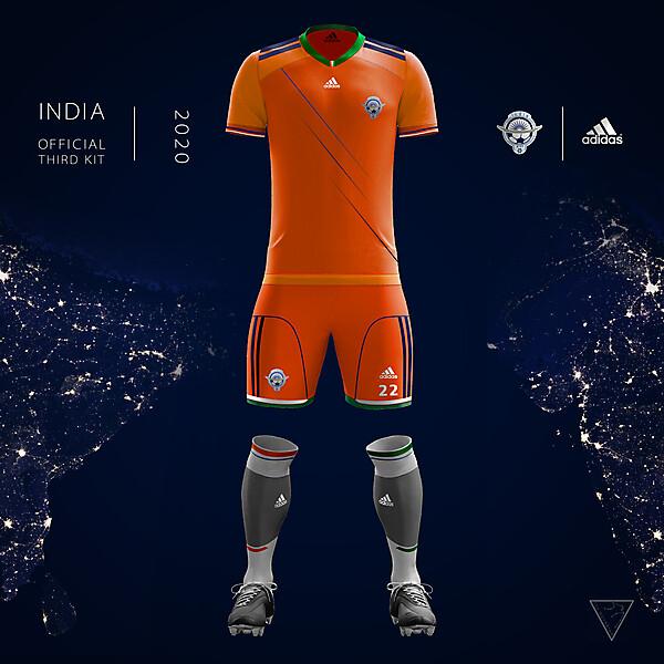Adidas India Official Third Kit 2020