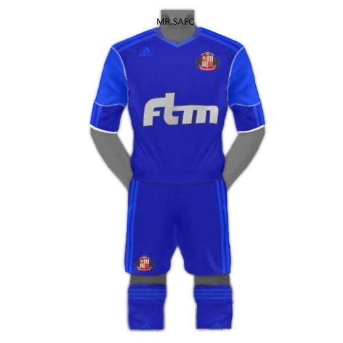 Adidas Sunderland Third kit 2011/2012