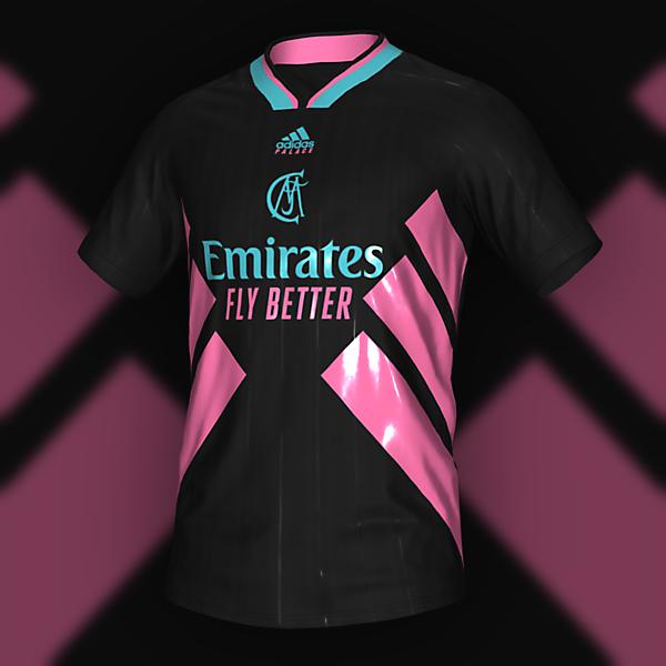 adidasxpalace Real Madrid Away Shirt Concept