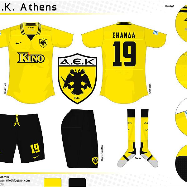 A.E.K. Athens - Nike