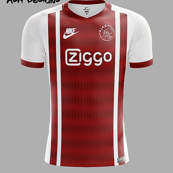 AFC Ajax Nike 2018 Home Kit