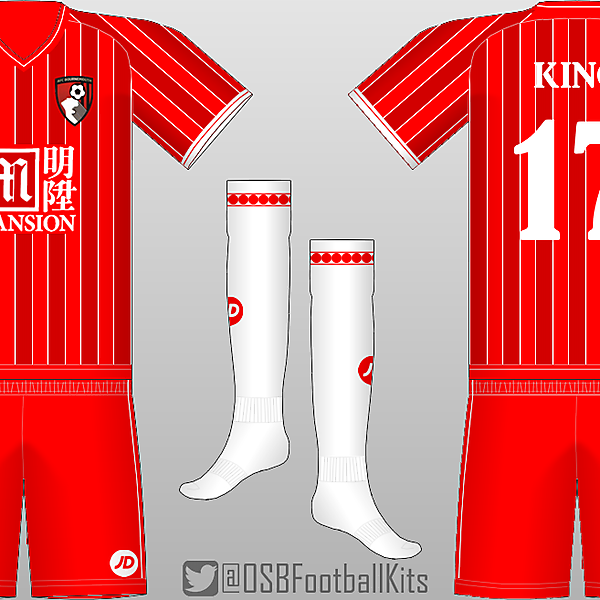 AFC Bournemouth Throwback 3rd Kit