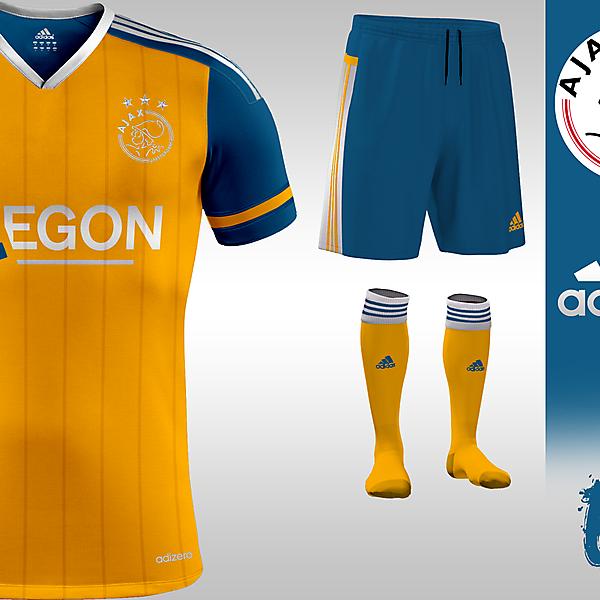 Ajax 15/16 Away Kit Design