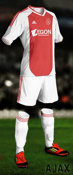 Ajax Home 2012/13