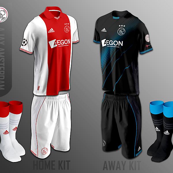 Ajax Amsterdam fantasy kits