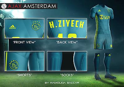 AJAX AMSTERDAM Football Concept Kit 2018/2019