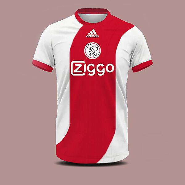 Ajax home shirt concept