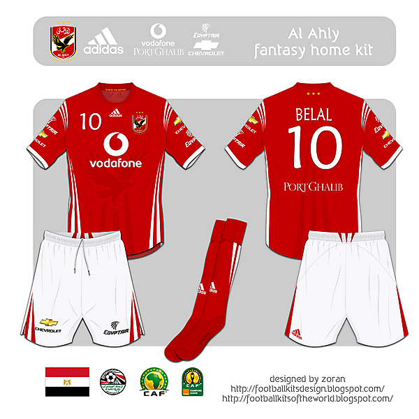 Al Ahly fantasy home