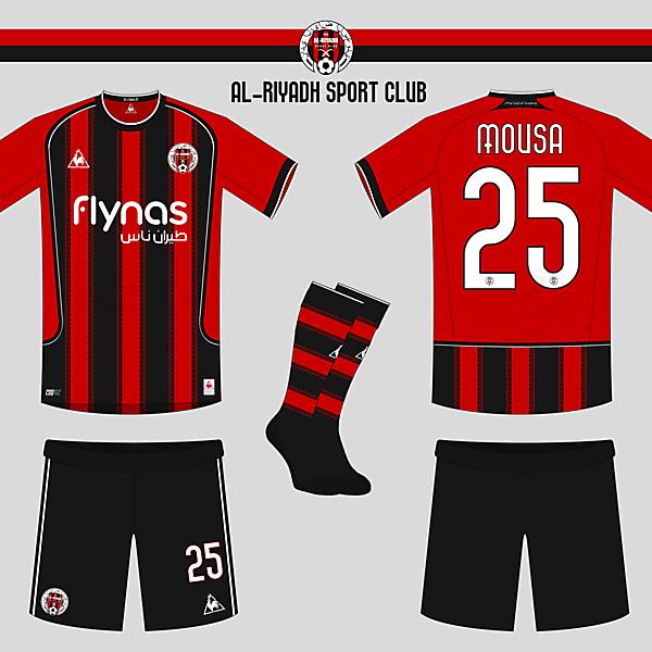 Al-Riyadh SC Home Kit and Crest re-design