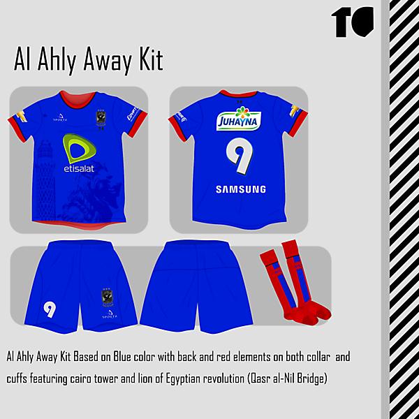 Al Ahly Away Kit