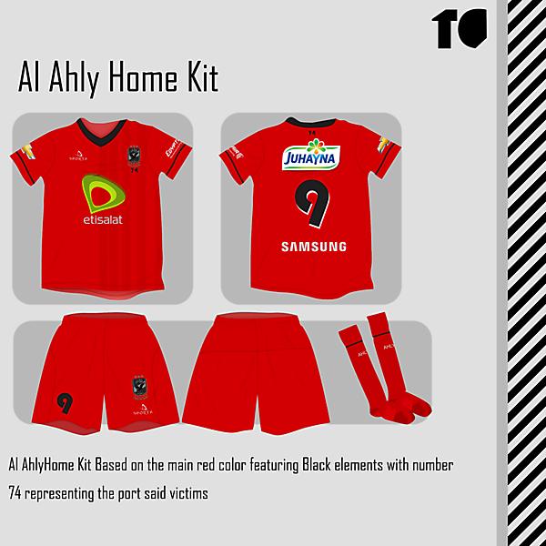 Al Ahly Home Kit