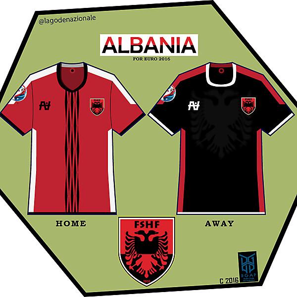 Albania Euro 2016 Fantasy kit