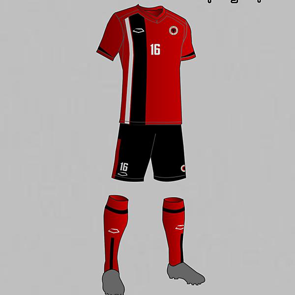 Albania National team home kit 2016