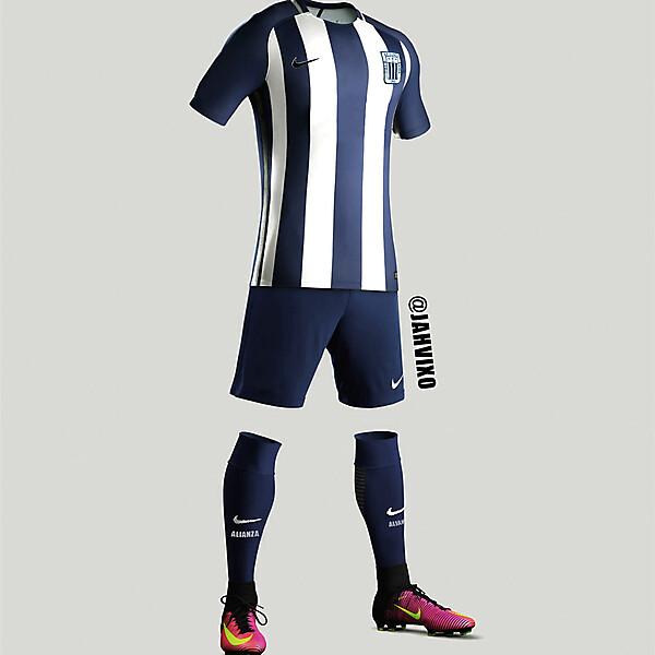 Alianza Lima 2017 Nike kit