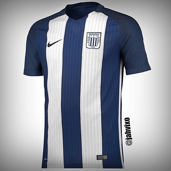 Alianza Lima 2017 Nike template