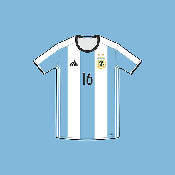Argentina - Home / Copa America Centenario