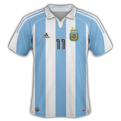 Argentina 2010/11 Home Shirt