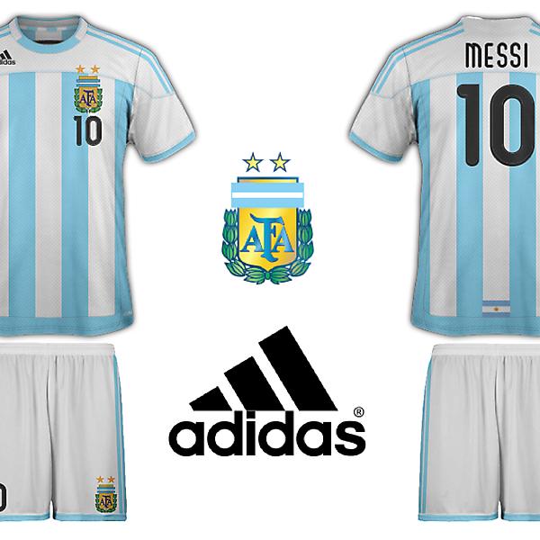 Adidas Argentina Home Kit