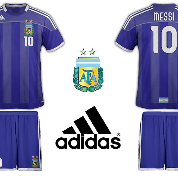 Adidas Argentina Away Kit