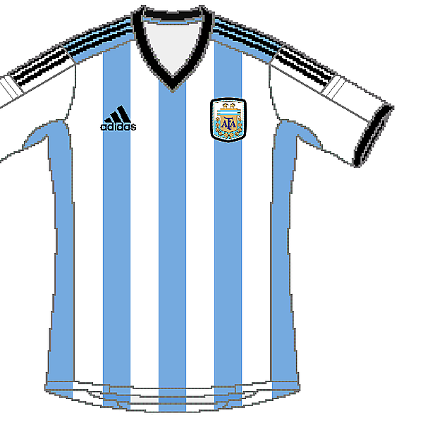 Argentina Adidas World Cup Home Kit V.2