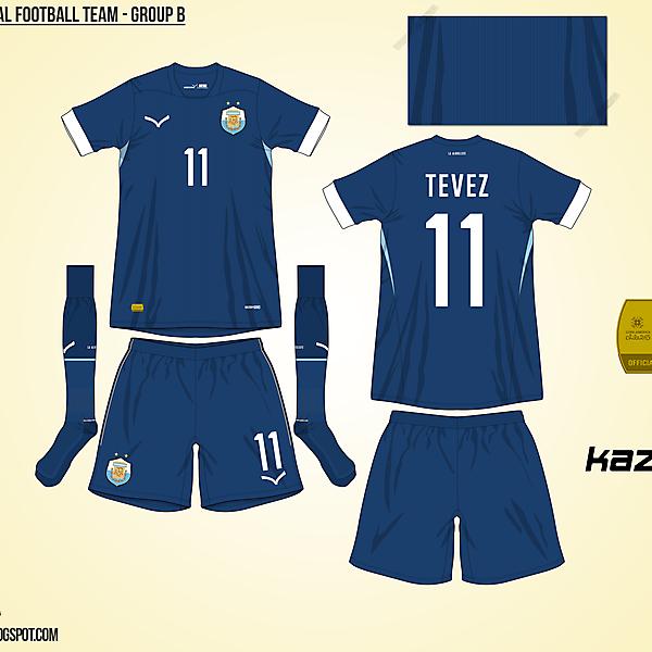 Argentina Away - Group B, 2015 Copa América
