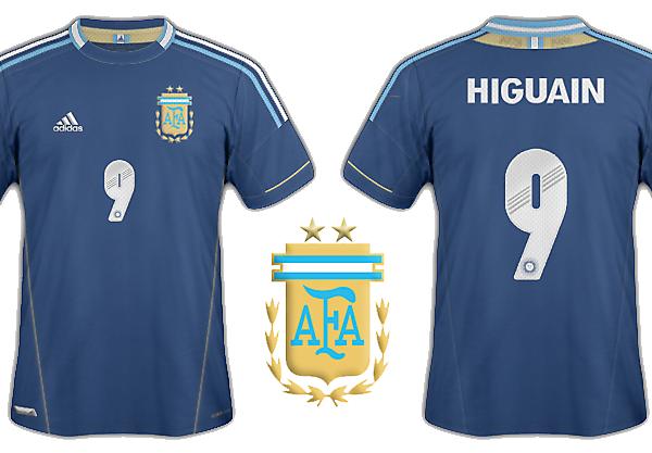 Argentina away