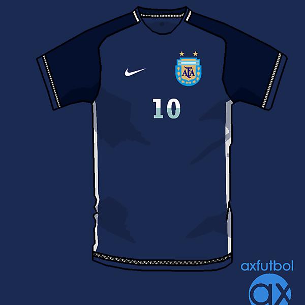 Argentina fantasy nike away shirt