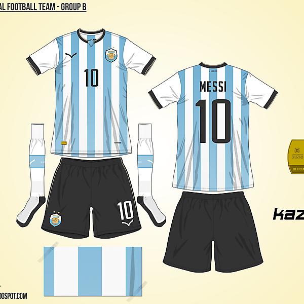 Argentina Home - Group B, 2015 Copa América