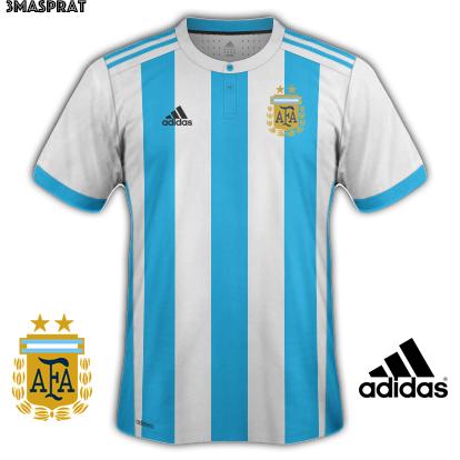 Argentina Home Fantasy Kit