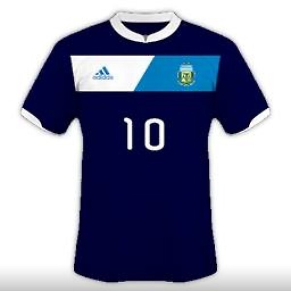 Argentina National Team Away Kit Design