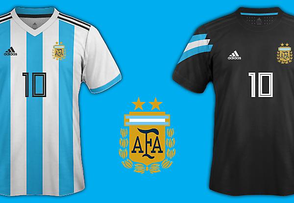 Argentina World Cup 2018 Fantasy Kit