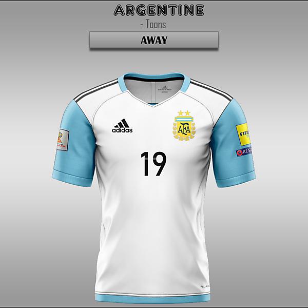 Argentine -- Home/Away/Third