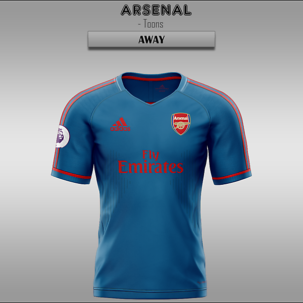 Arsenal -- Home/Away/Third 2019/2020