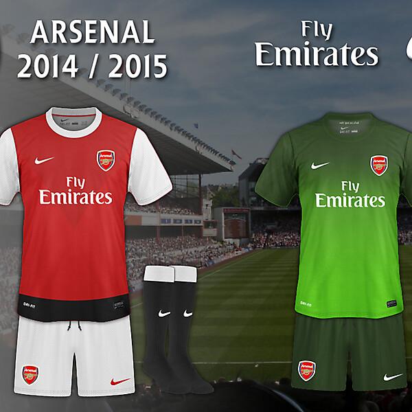 Arsenal 2014 - 2015