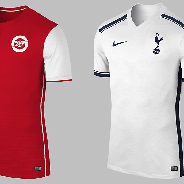 Arsenal , Tottenham / With Nike