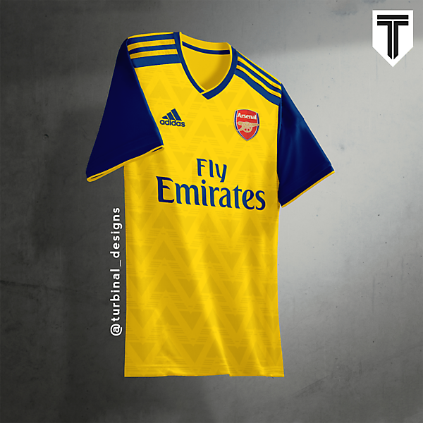 Arsenal Adidas Away Concept Kit