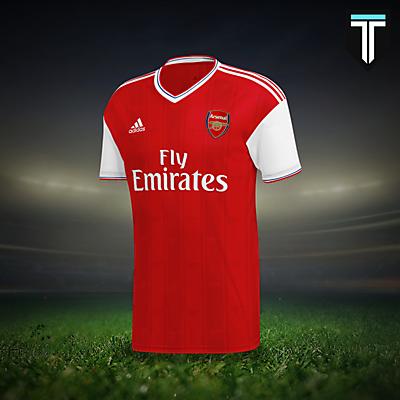 Arsenal Adidas Home Kit Concept