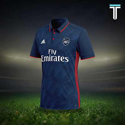 Arsenal Adidas Third Kit Concept
