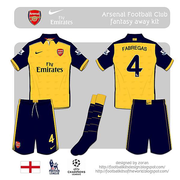 Arsenal F.C. fantasy away