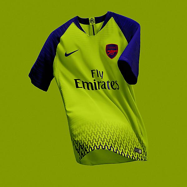 Arsenal Away Jersey Concept