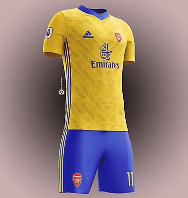 Arsenal Away Jersey Design