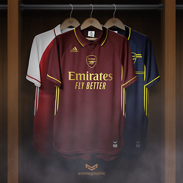 Arsenal FC | Adidas | Third | Ispired by 2005-2006 special